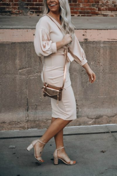 Perfect Blush Dress for Summer