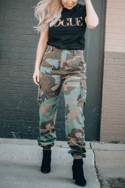 The Ultimate Camouflage Joggers