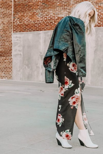3 Ways To Style A Floral Maxi For Fall